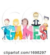 People Adult Games Illustration