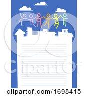 Community Frame Background Illustration