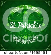 Patricks Day Green Shamrock Clover Irish Holiday