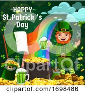 Leprechaun Hat Gold Green Shamrock Patricks Day