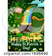 Saint Patricks Day Leprechaun Holiday Items
