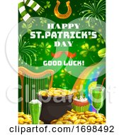 Patricks Day Irish Symbols Of Luck And Fortune