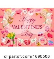 Poster, Art Print Of Valentines Day Holiday Romantic Gifts