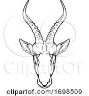 Tough Impala Mascot