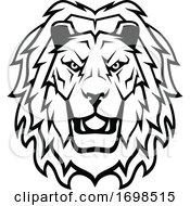 Tough Lion Mascot