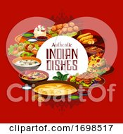 Indian Food Authentic Dishes Cuisine Menu