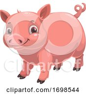 Poster, Art Print Of Chinese Zodiac Pig