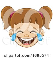 Girl Laughing And Crying