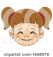 Girl Grinning