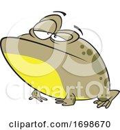 Cartoon Bullfrog