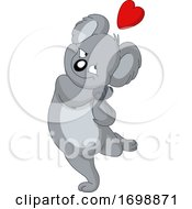 Poster, Art Print Of Sweet Koala In Love