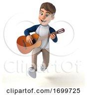 03/19/2020 - 3d White Boy On A White Background