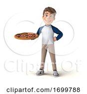03/20/2020 - 3d White Boy On A White Background