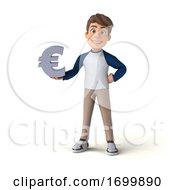 03/22/2020 - 3d White Boy On A White Background