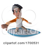 03/17/2020 - 3d Indian Boy On A White Background