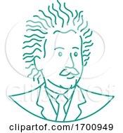 Nerdy Albert Einstein