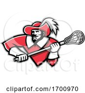 Musketeer Lacrosse Mascot