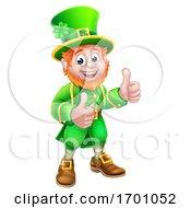 Poster, Art Print Of Leprechaun St Patricks Day Cartoon Character