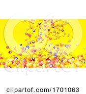 Poster, Art Print Of Emoji Emoticon Character Background