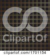 Elegant Gold And Black Pattern Design