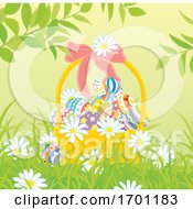 Poster, Art Print Of Easter Basket