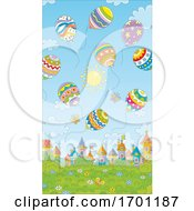 Poster, Art Print Of Easter Egg Balloons