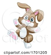Poster, Art Print Of Easter Bunny Rabbit Cartoon
