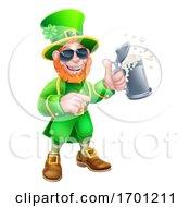 Poster, Art Print Of Leprechaun St Patricks Day Cartoon Mascot