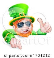 Poster, Art Print Of Leprechaun St Patricks Day Cool Cartoon Character