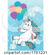 Unicorn And Balloons