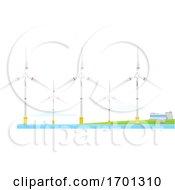 Poster, Art Print Of Wind Farm