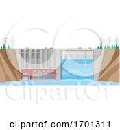 Poster, Art Print Of Dam