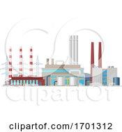 Poster, Art Print Of Power Plant
