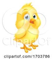 Poster, Art Print Of Easter Chick Little Baby Chicken Bird Cartoon