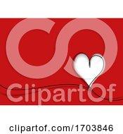 Poster, Art Print Of Heart Background
