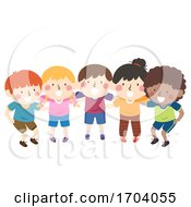 Kids Team Group Plan Illustration
