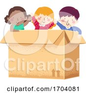 Kids Big Box Illustration