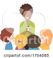 Poster, Art Print Of Kids Teacher Pet Hamster Illustration
