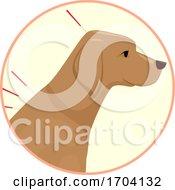Poster, Art Print Of Dog Animal Acupuncture Illustration