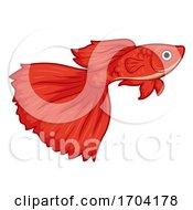 Guppy Pet Fish Illustration