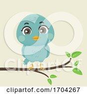Bird Branch Illustration