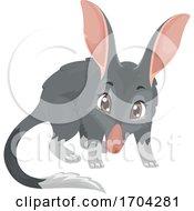 Bilby Animal Standing Illustration