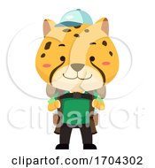 Cheetah Travel Illustration