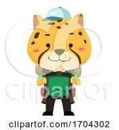 Cheetah Travel Illustration