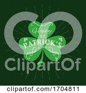 Patrick Day Holiday Shamrock Clover