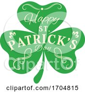 Happy St Patricks Day Clover
