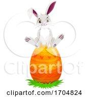 Poster, Art Print Of Easter Bunny Rabbit