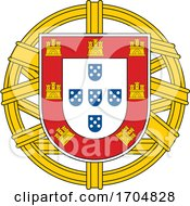Coat Of Arms Of Portugal by Vector Tradition SM