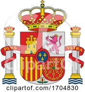 Coat Of Arms Of Spain by Vector Tradition SM