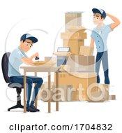 Mail Men Working